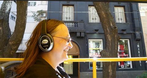 Dr. Elizabeth Gierlowski-Kordesch on Buenos Aires Bus