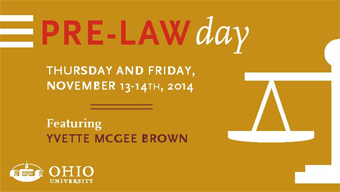 Pre-Law Day poster