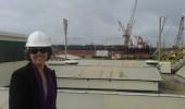Dr. Robin Muhammad at Lisnave Shipyard