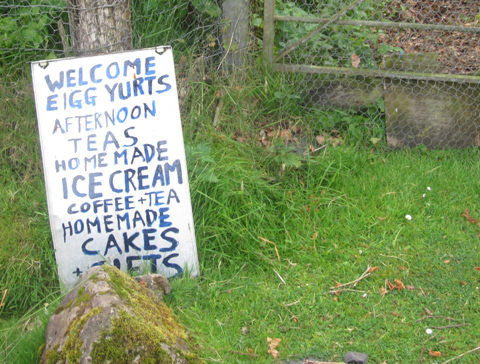 Everything is homemade on the Isle of Eigg. Photo by Sara Sands.