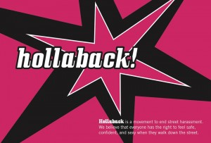 Anthropology Students Collaborate with Alum at Hollaback!