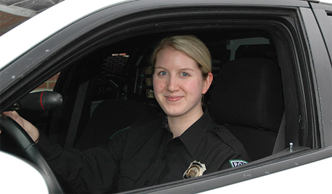 Natasha Lorenz joined OUPD after graduating from OHIO with a bachelor's degree in criminology and sociology in May 2014.