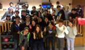 OPIE bowling team: students, faculty, and friends