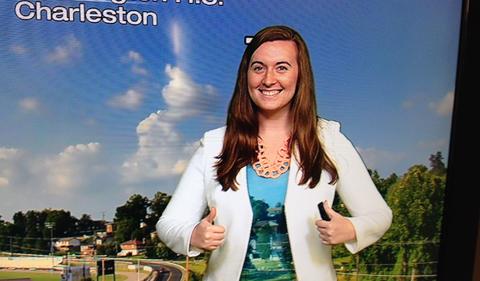 Meteorology Student Gets Summer Internship at NBC4