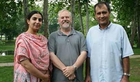 Aurangzeb Khan, Martin Kordesch, and Saima Khan,