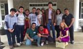 OPIE students visit Nursing Home in Athens