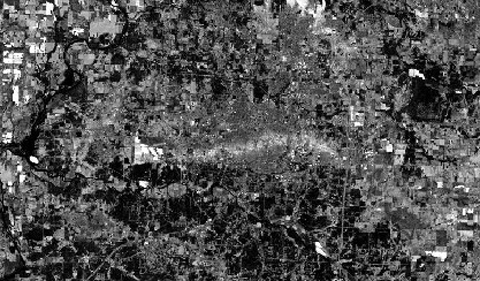 Thermal imagery after Joplin Tornado