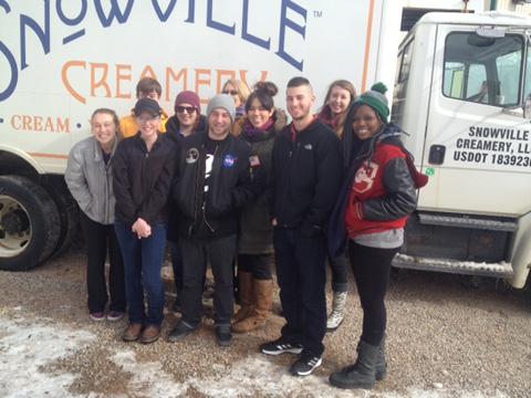 Visit to Snowville Cream