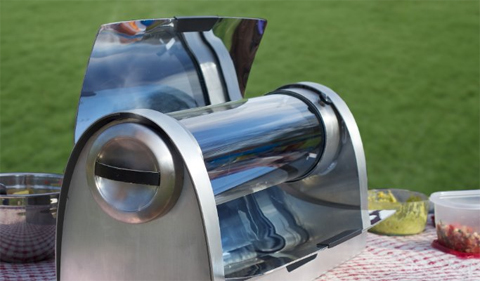 Patrick Sherwin's GoSun Stove, from his LInkedIn page.