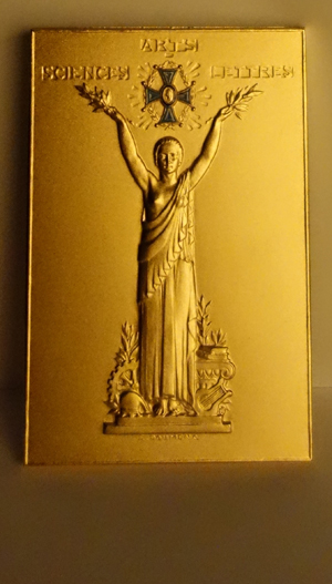 The Grande Medaille d'Or