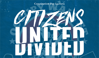 citizens united divided artwork for constitution day lecture