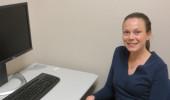 Psychology graduate student Ashley Howell
