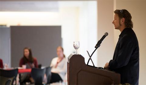 Greg Kessler speaking at Washington State University TECH Ed