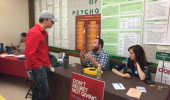 The Psychology Advising Fair held in October.