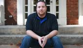 Geography graduate student Steven Richardson. Photo credit: Jean Andrews/Ohio University.