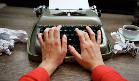 From-Page-to-Stage-photo of typing