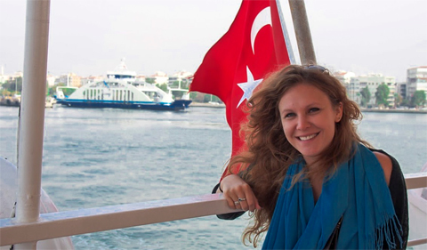 Lydia Deakin in Turkey