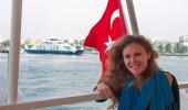Lydia Deakin in Turkey