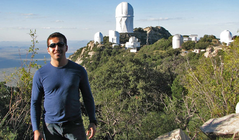Reza Katebi at Kitt Peak