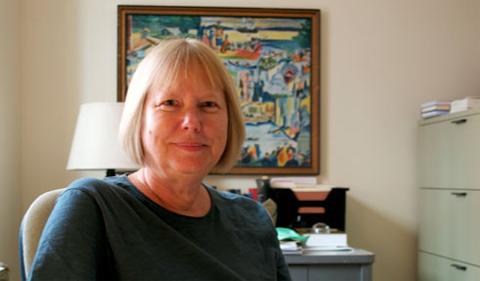Dr. DeLysa Burnier, portrait in office