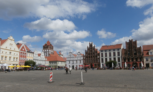 Greifswald town square