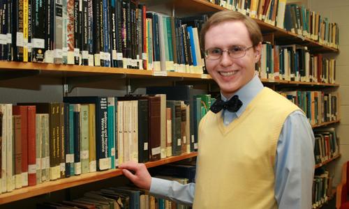 Senior Andrew Dewald