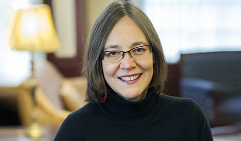 Dr. Miriam Shadis, portrait