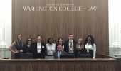 OHIO students tour American University Washington College of Law.