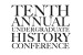 Undergraduate History Conference Includes Alumni Panel on Careers, April 14-15