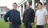 Dr. Sergio Ulloa, Dr. Diego Mastroguiseppe, and Doctoral Student Oscar Avalos