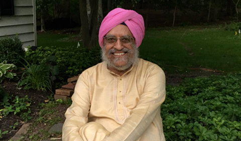 Professor Amritjit Singh, co-editor of Revisiting India's Partition: New Essays on Memory, Culture, and Politics (Photo Credit: Supreet Kohli)