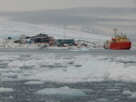 Palmer Station in Antarctica (Photo by Amanda Biederman)