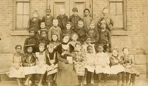Mary Murray Rendville School in the early 1900s