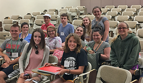 Several attendees of OHIO's Summer Law and Trial Institute