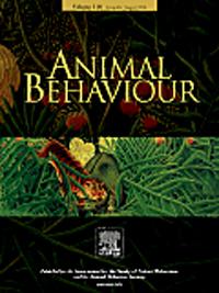 Animal Behaviour journal cover