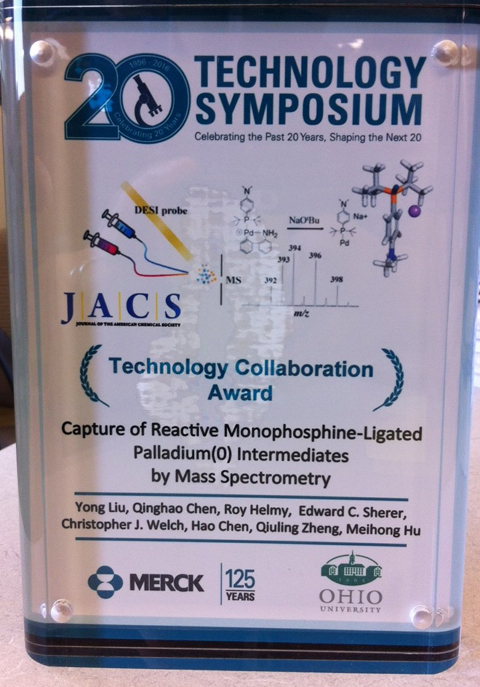 Merck Tech Collaboration Award in acrylic