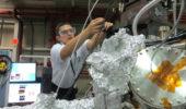 Physics Intern Ryan Tumbleson at Argonne Nat'l Lab