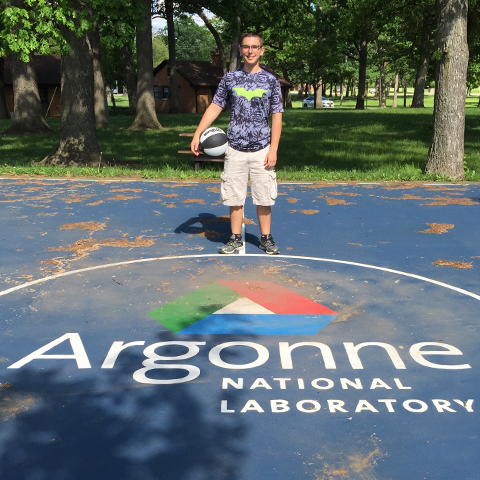 Ryan TUMBLESON at Argonne basketball court 480x480px