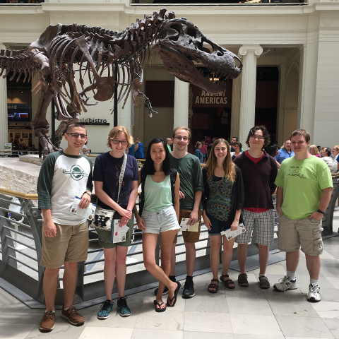 One of our stops included the Field Museum of Natural History