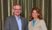 Steve Evans and Julie Owens