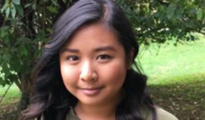 Elizabeth Tran, first-year doctoral student in creative writing