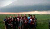 Dr. Jana Houser led 12 undergraduates and two graduates on a storm-chasing trek through the Central Plains.