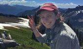 Jocelyn Pettit in Mount Rainier National Park in 2016