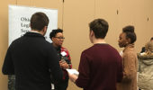 Alum Tynita White at the College of Arts & Sciences Career and Networking Week