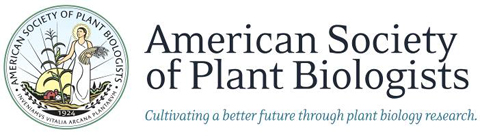 American Societ:ultivby of Plant Biology logo: cultivaring a better future through plant biology resesarch