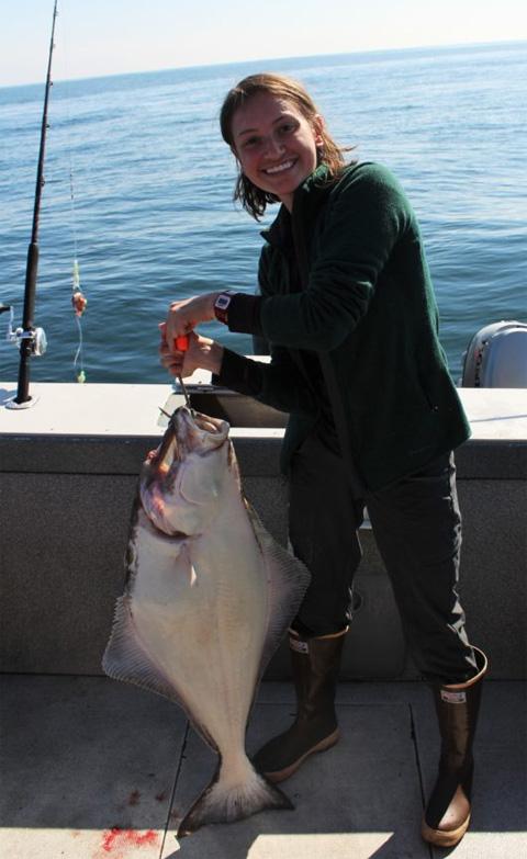 Danielle Butts' internship in Kodiak, Alaska, provided adventure and education