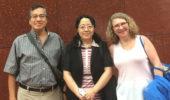 L to R: Sergio Ulloa, Rong Yang, Nancy Sandler