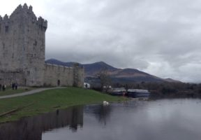 Ross Castle in Killarney National Park, Ireland