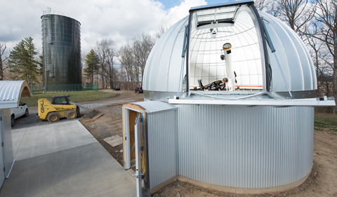 Construction completing on Ohio University observatory