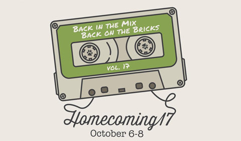 Homecoming 2017 Oct. 6-8: Back in the Mix, Back on the Bricks, Vol. 17 at Ohio University